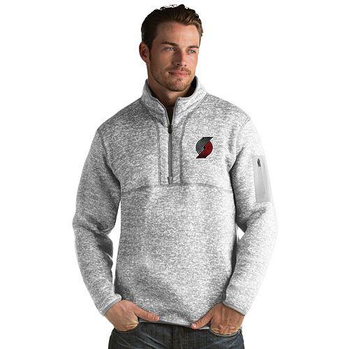 Men's Antigua Portland Trail Blazers Fortune Pullover