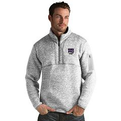 Men's Antigua Sacramento Kings Fortune Pullover