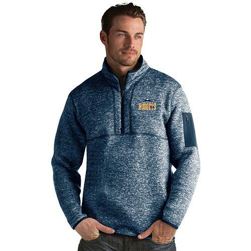 Men's Antigua Denver Nuggets Fortune Pullover