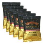 Door County Coffee Kona Blend Ground Coffee 6 pk