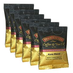 Door County Coffee Kona Blend Ground Coffee 6-pk.