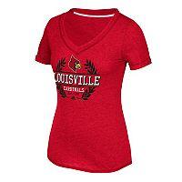 Women's adidas Louisville Cardinals Laural Tee