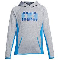 Women's Under Armour Fleece Twist Big Logo Graphic Hoodie