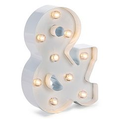 Darice LED Marquee Ampersand Table Decor