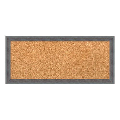 Amanti Art Medium Gray Framed Cork Board Wall Decor