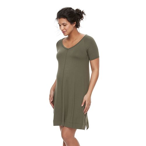 Maternity a:glow Swing T-Shirt Dress