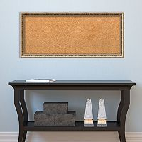 Amanti Art Fluted Champagne Finish Cork Board Wall Decor