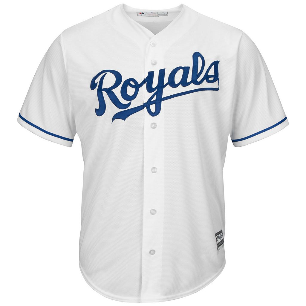 Big & Tall Majestic Kansas City Royals Eric Hosmer Cool Base Replica Jersey