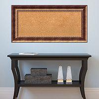 Amanti Art Manhattan Bronze Finish Cork Board Wall Decor