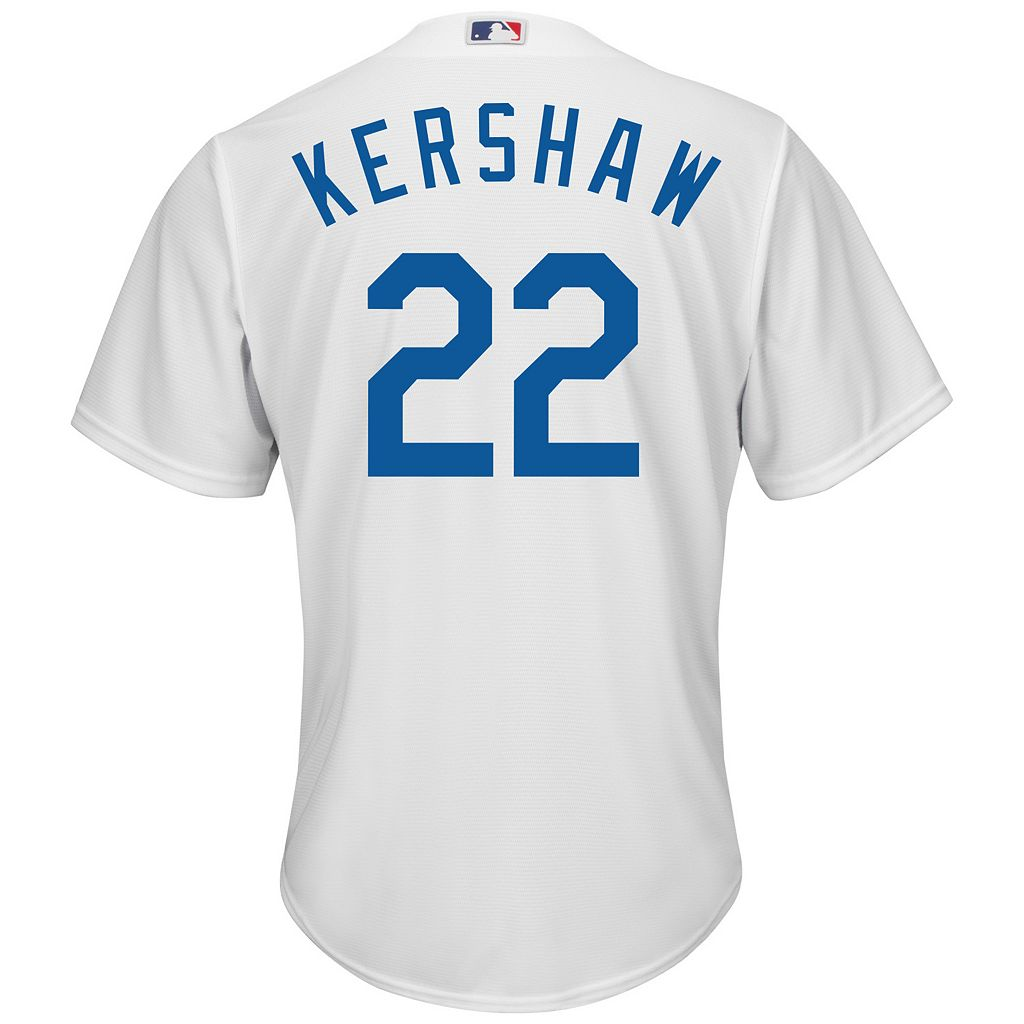 Big & Tall Majestic Los Angeles Dodgers Clayton Kershaw Cool Base Replica Jersey