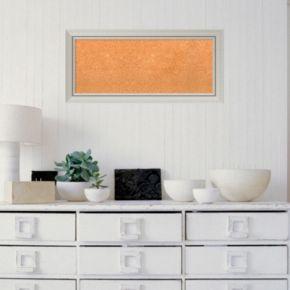 Amanti Art Medium Modern Framed Cork Board Wall Decor