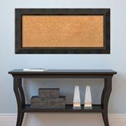 Amanti Art Bronze Finish Cork Board Wall Decor
