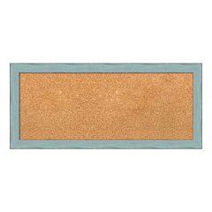 Amanti Art Medium Weathered Framed Cork Board Wall Decor