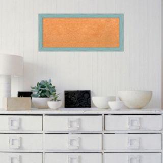 Amanti Art Medium Weathered Framed Cork Board Wall Decor