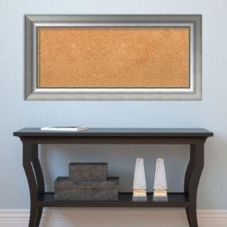 Amanti Art Vegas Rectangular Framed Cork Board Wall Decor