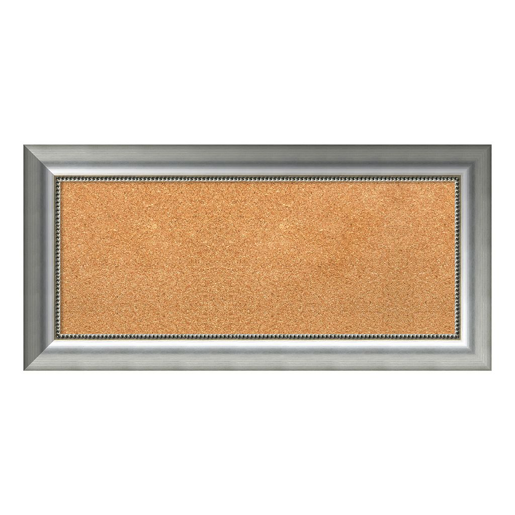 Amanti Art Vegas Rectangular Framed Cork Board Wall Decor