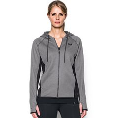 Women's Under Armour Fleece FZ-Solid Thumb Hole Zip-Up Hoodie
