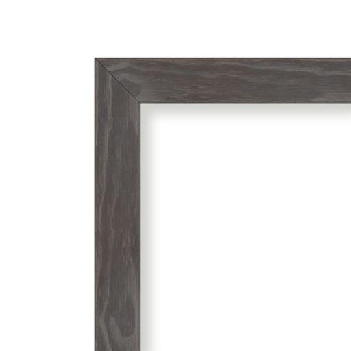 Amanti Art Medium Rustic Gray Framed Cork Board Wall Decor