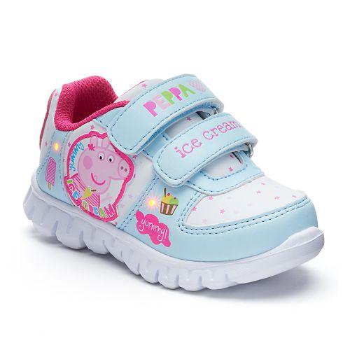 Peppa Pig Ice Cream Toddler Girls' Light-Up Shoes