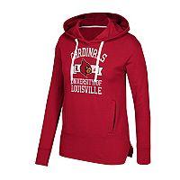 Women's adidas Louisville Cardinals Banner Hoodie