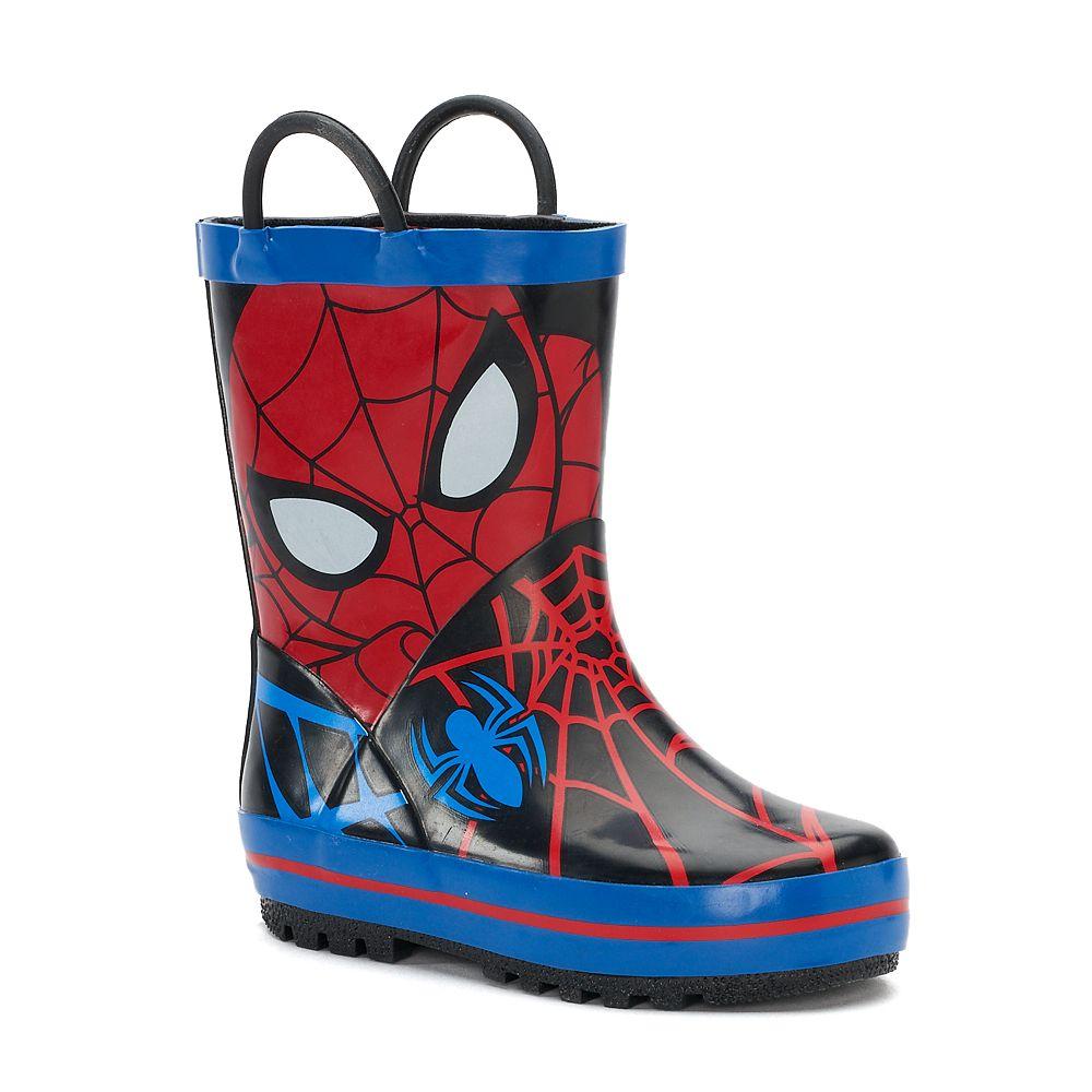 Marvel Spider-Man Toddler Waterproof Rain Boots