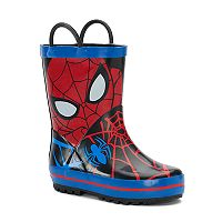 Marvel Spider-Man Toddler Waterproof Rain Boots