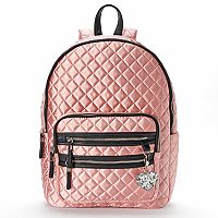 Candie's® Andie Quilted Satin Backpack
