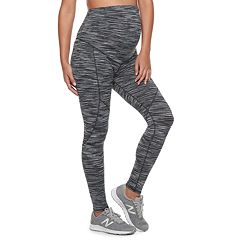 Maternity a:glow Belly Panel Workout Leggings