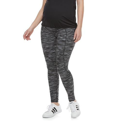 95ceb8a1d35 Maternity a glow Belly Panel Workout Leggings