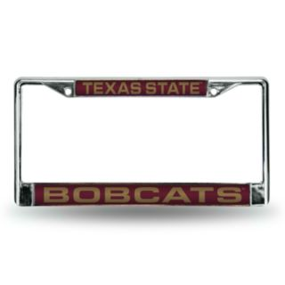 Texas State Bobcats License Plate Frame