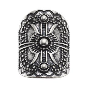Mudd® Antiqued Medallion Ring