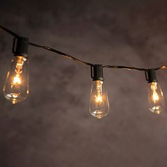 String lights lighting kohls cleveland vintage lighting indoor outdoor edison bulb string lights aloadofball