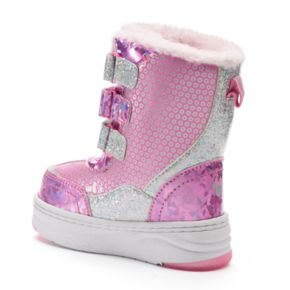 Disney Minnie Mouse Toddler Girls' Light-Up Winter Boots