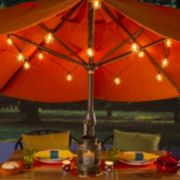 Cleveland Vintage Lighting Indoor / Outdoor Globe Bulb String Lights