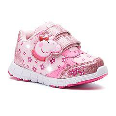 Peppa Pig Glitter Toddler Girls' Light-Up Shoes
