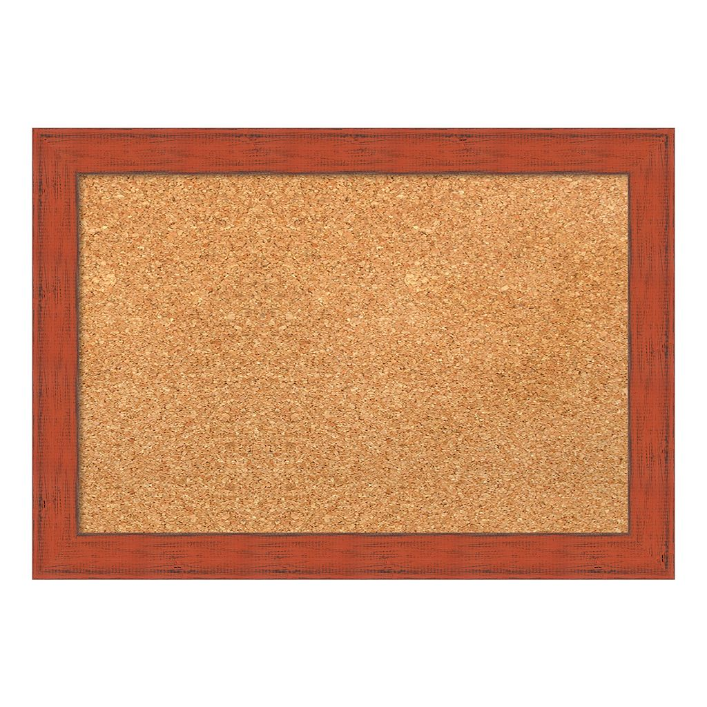 Amanti Art Traditional Framed Cork Board Wall Decor