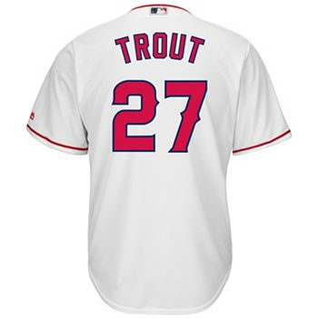 Big   Tall Majestic Los Angeles Angels of Anaheim Mike Trout Cool Base  Replica Jersey 51508b5e9