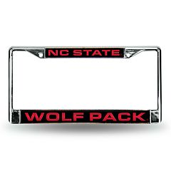 North Carolina State Wolfpack License Plate Frame