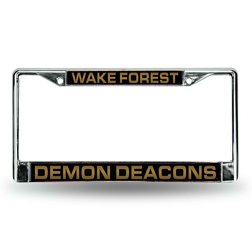 Wake Forest Demon Deacons License Plate Frame