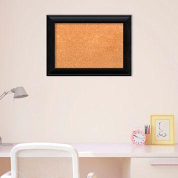 Amanti Art Small Black Finish Cork Board Wall Decor