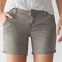 Women's SONOMA Goods for Life™ Color Chino Shorts