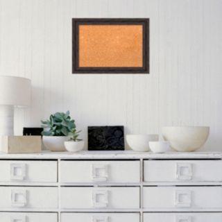 Amanti Art Rustic Framed Cork Board Wall Decor