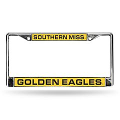 Southern Miss Golden Eagles License Plate Frame