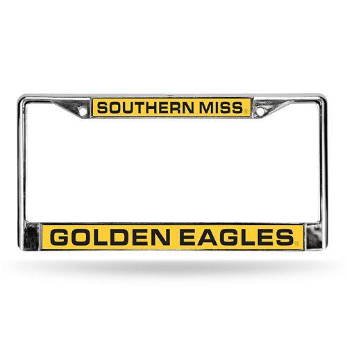Southern Miss Golden Eagles License Plate Frame