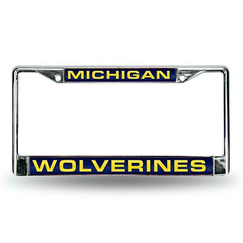 Michigan Wolverines License Plate Frame