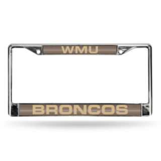 Western Michigan Broncos License Plate Frame