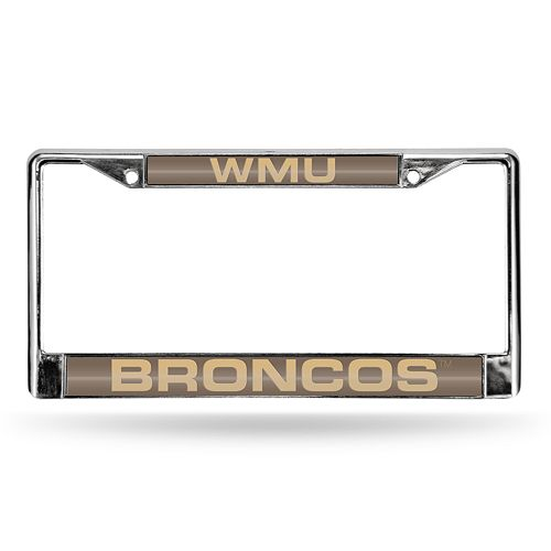 Western Michigan Broncos License Plate Frame
