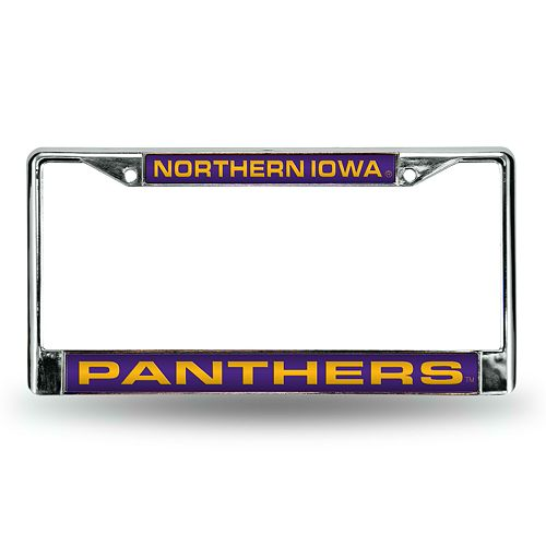 Northern Iowa Panthers License Plate Frame