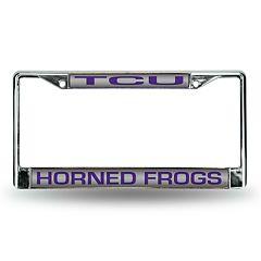 TCU Horned Frogs License Plate Frame