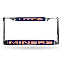UTEP Miners License Plate Frame